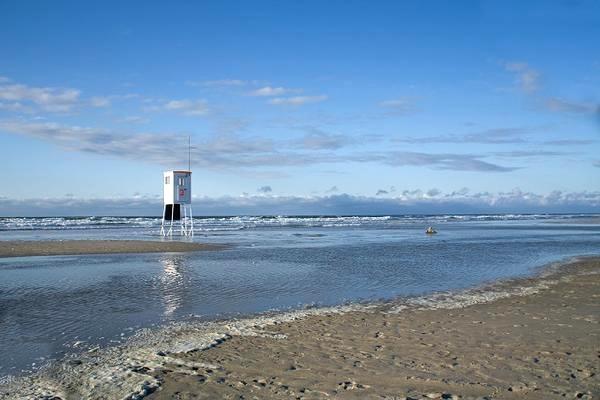 Bãi biển Juist nước Đức