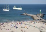 Bãi biển Rostock Đức