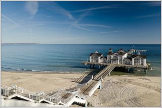 Bãi biển Rugen nước Đức được xem như là một trong những bãi biển đẹp nhất